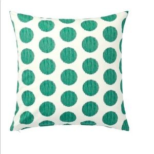 IKEA ASATILDA Pillow Cushion Cover Green Dots